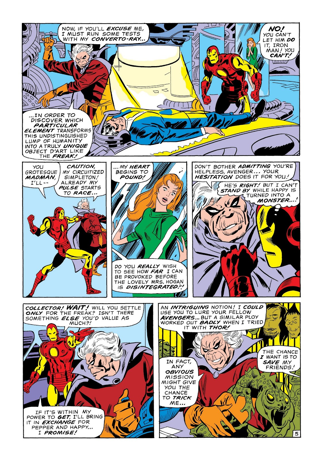 Read online Marvel Masterworks: The Invincible Iron Man comic -  Issue # TPB 7 (Part 1) - 14