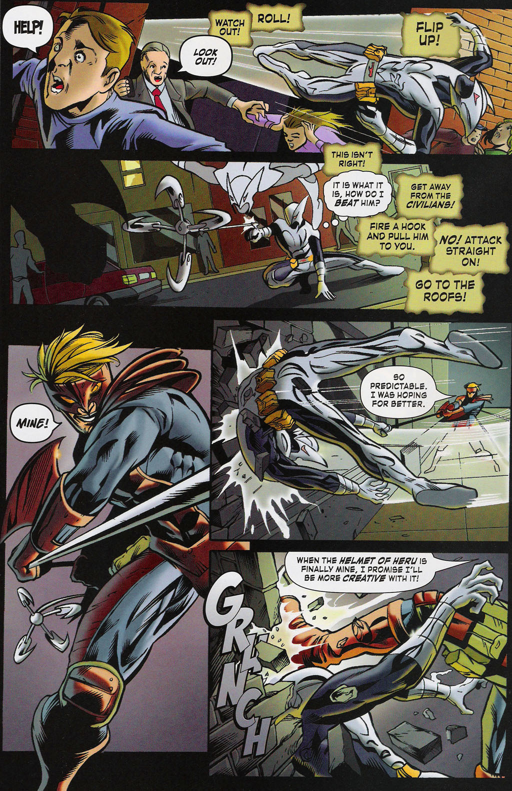 Read online ShadowHawk (2005) comic -  Issue #4 - 6
