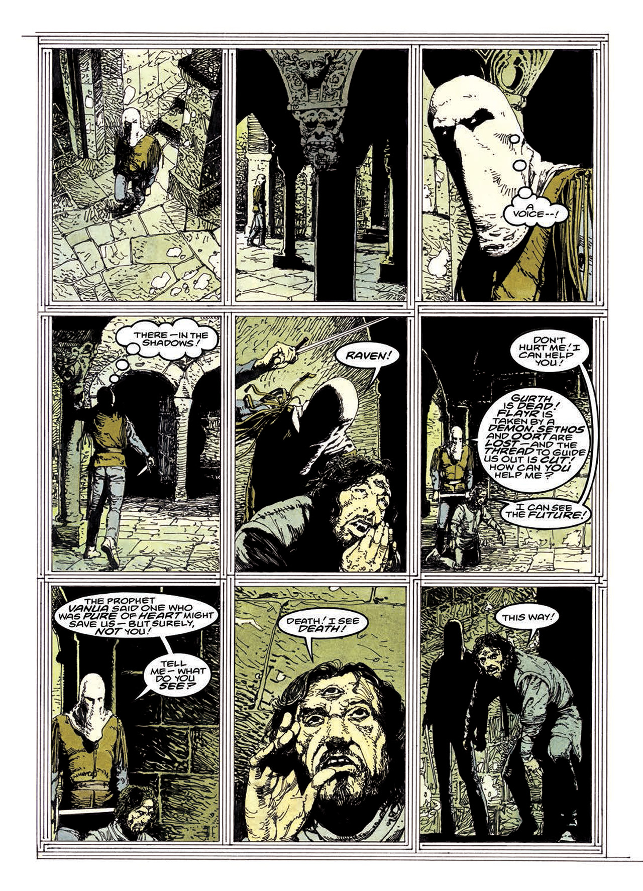Read online Mazeworld comic -  Issue # TPB - 157