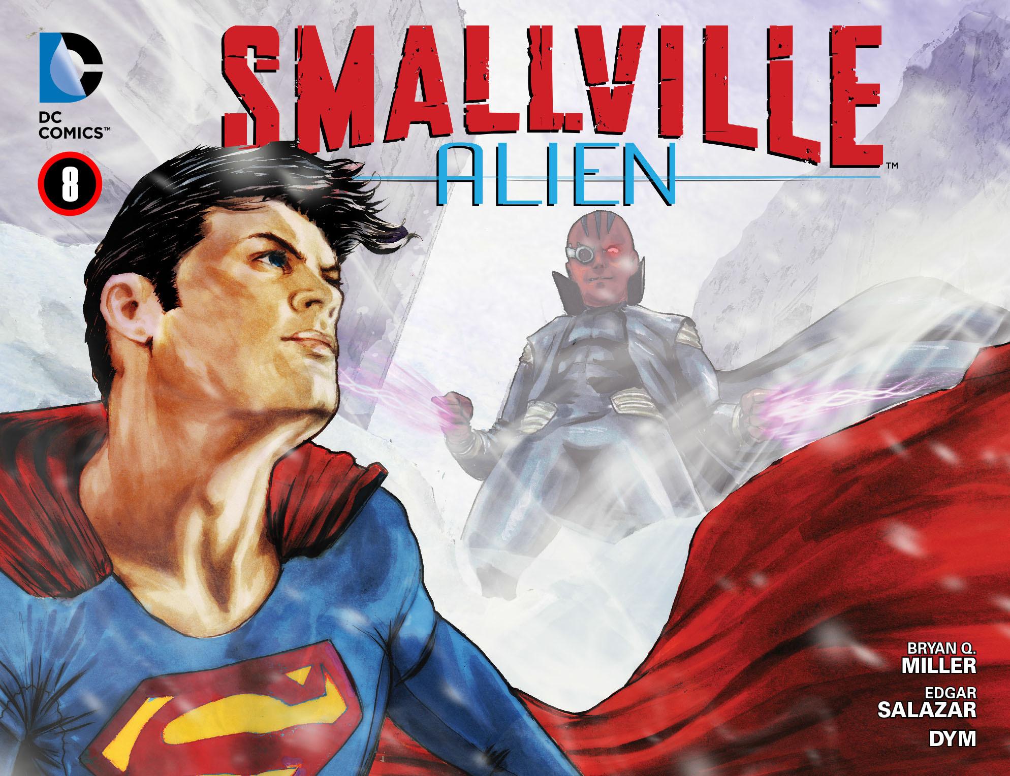 Read online Smallville: Alien comic -  Issue #8 - 1