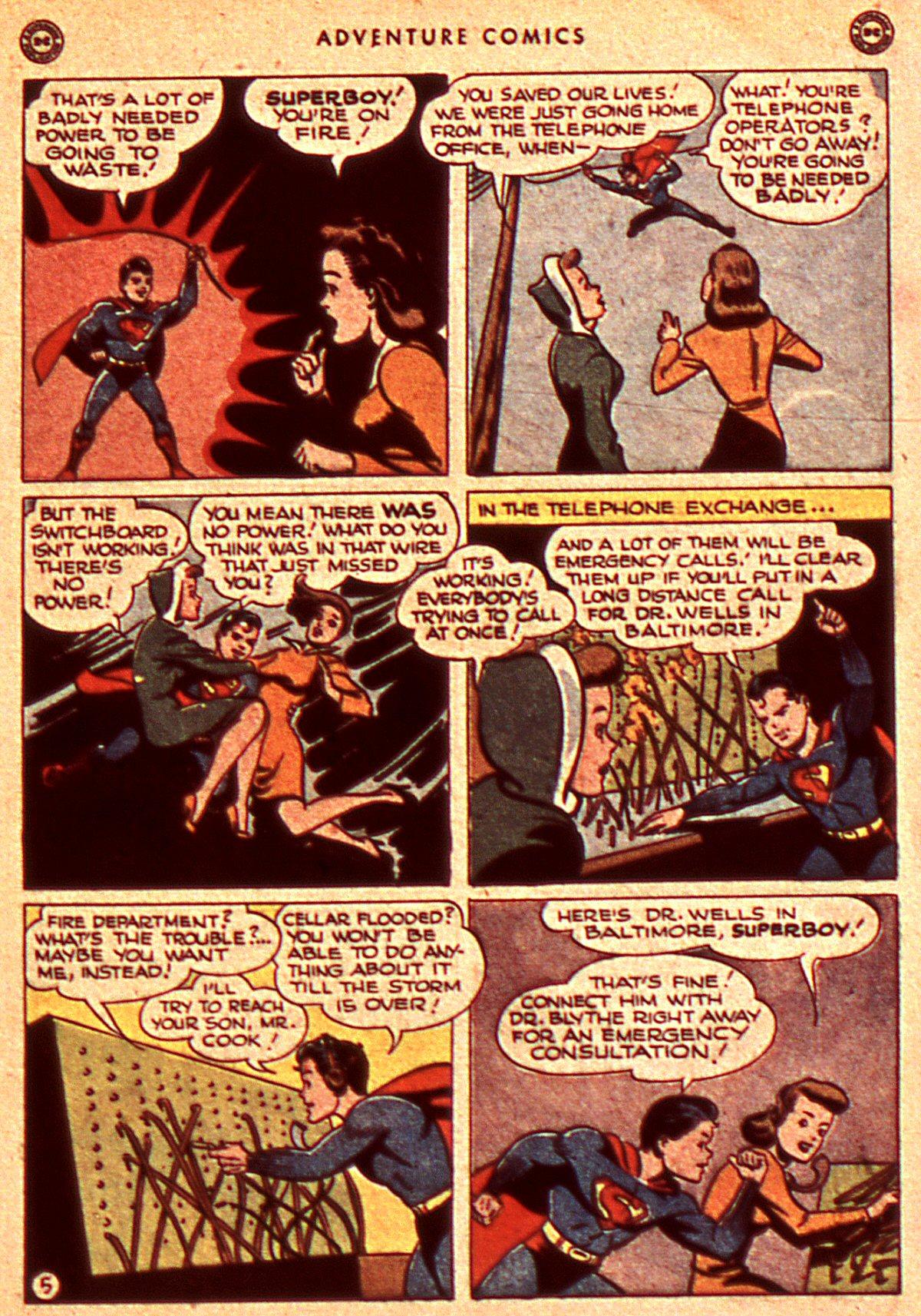 Read online Adventure Comics (1938) comic -  Issue #106 - 7