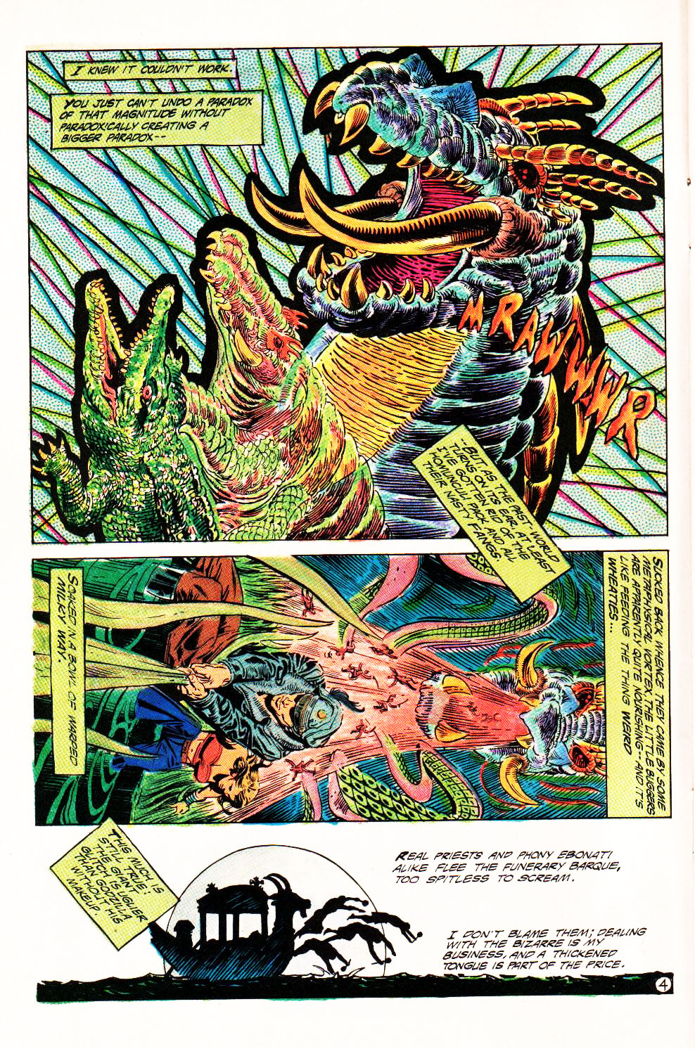 Read online Aztec Ace comic -  Issue #4 - 7
