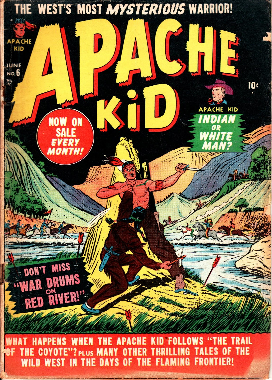 Apache Kid issue 6 - Page 1