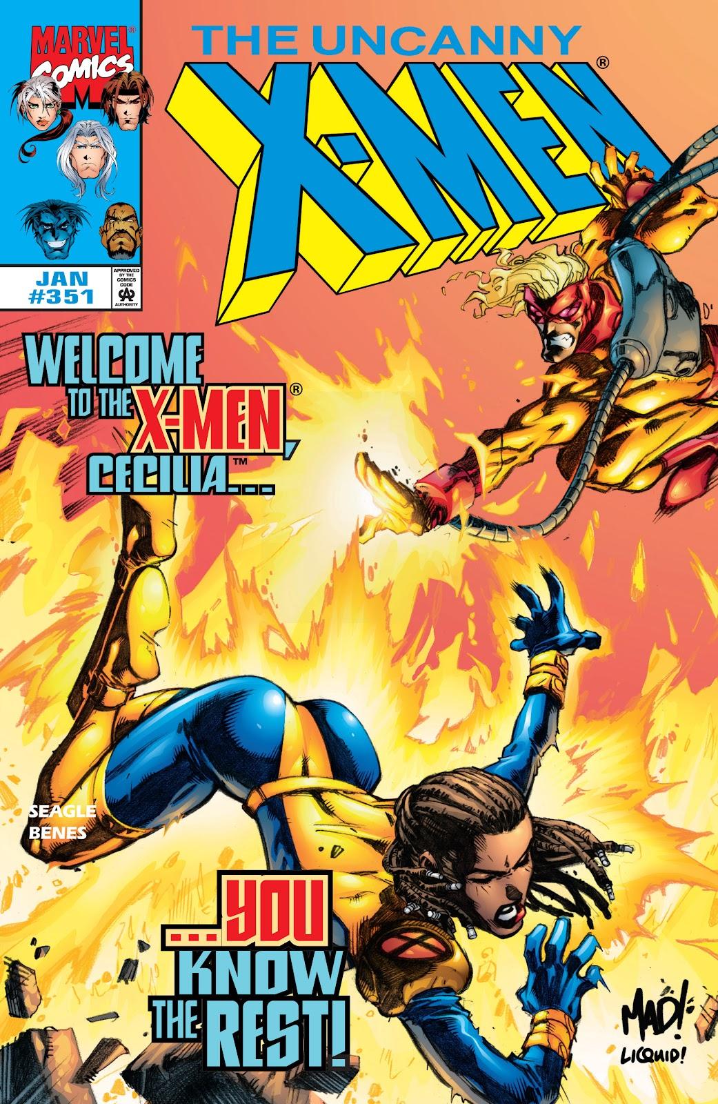Uncanny X-Men (1963) 351 Page 1