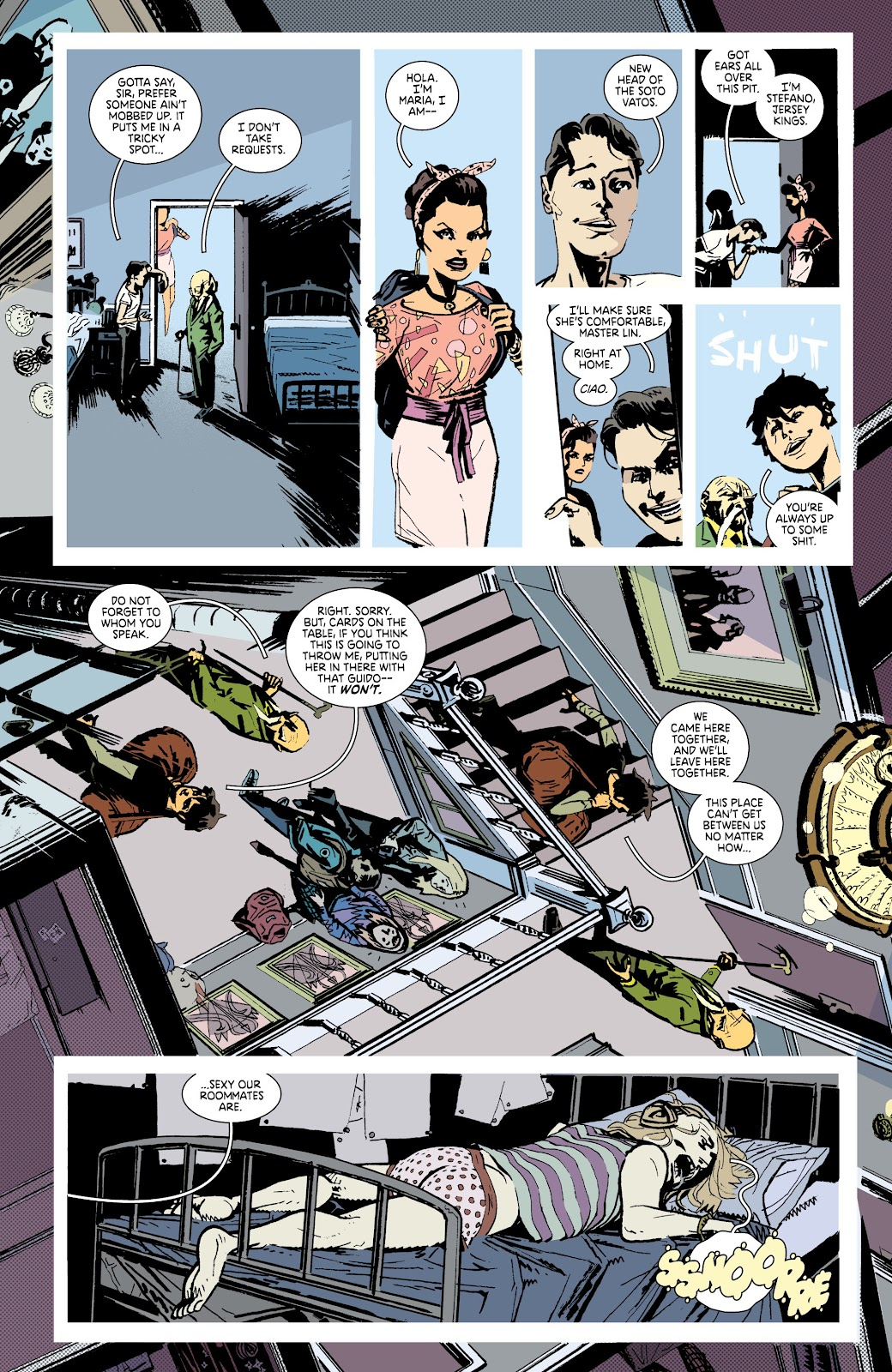 Read online Deadly Class comic -  Issue #38 - 13