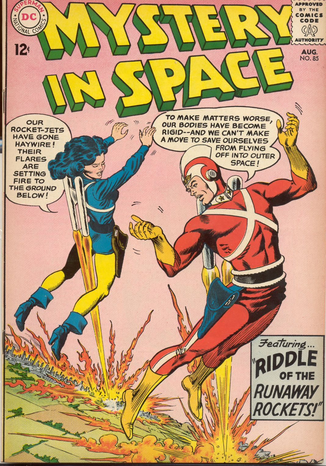 Mystery in Space (1951) issue 85 - Page 1