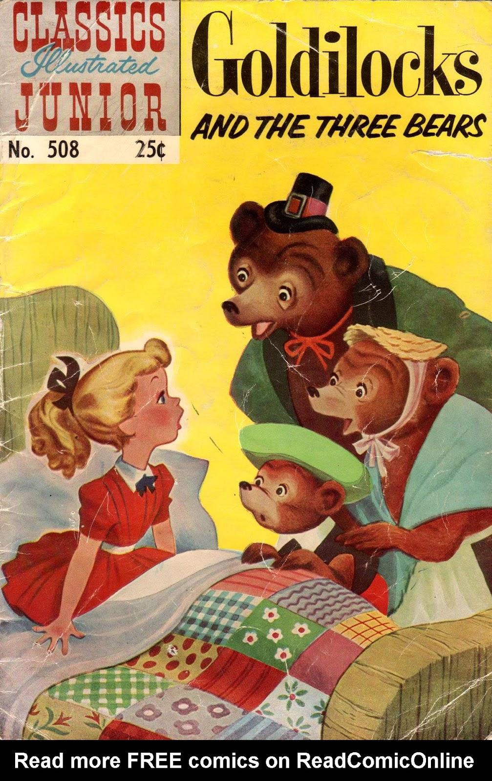 Classics Illustrated Junior 508 Page 1