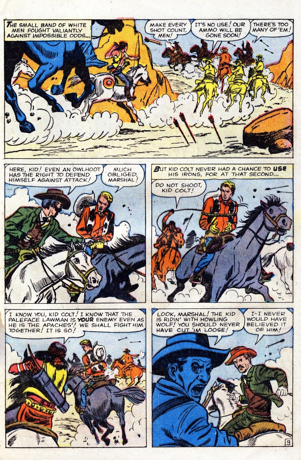 Gunsmoke Western issue 60 - Page 13