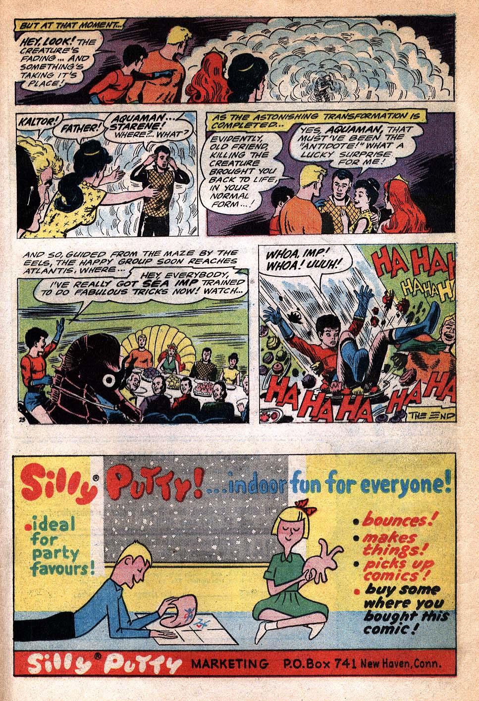 Read online Aquaman (1962) comic -  Issue #20 - 33