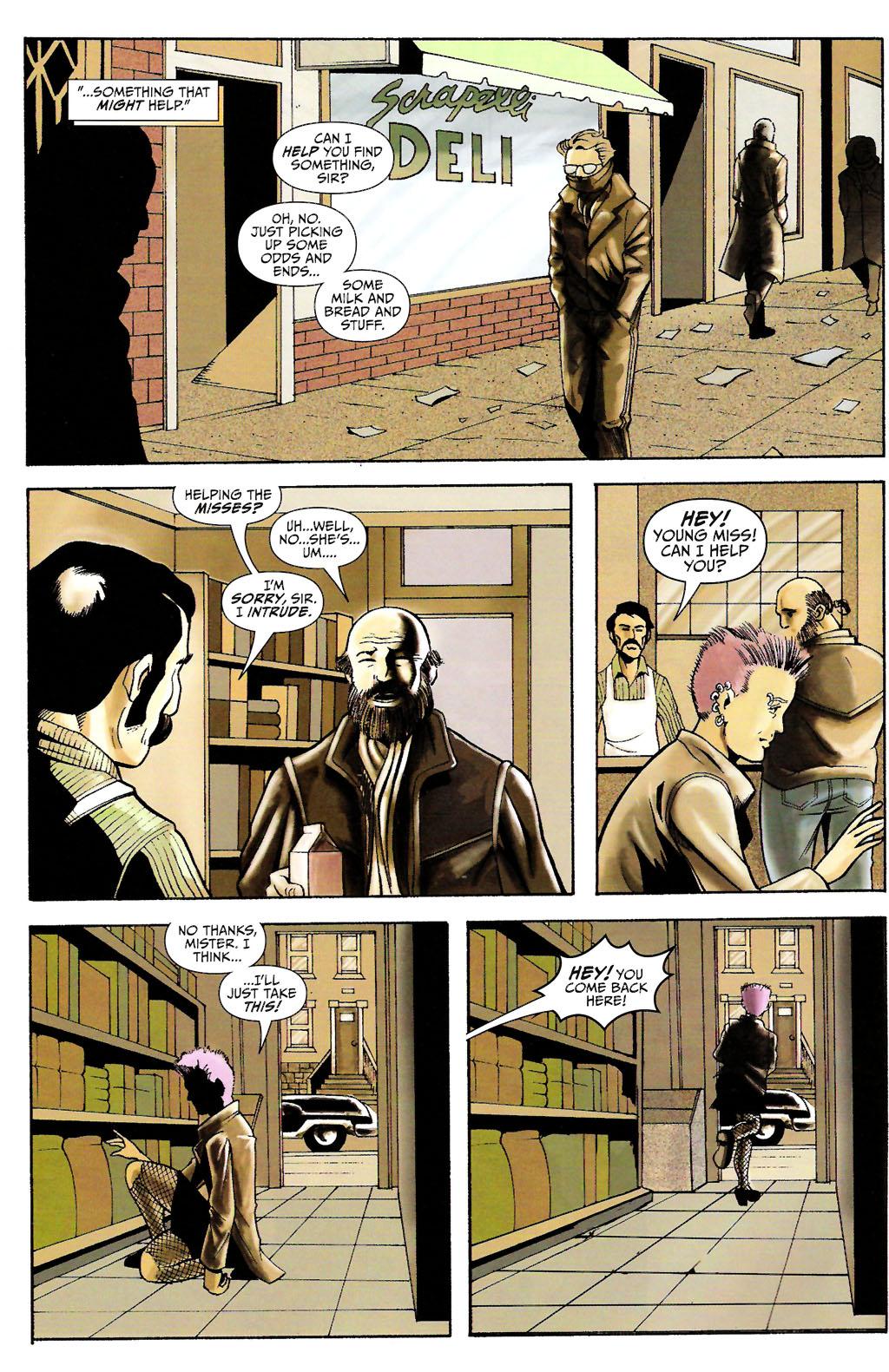 Read online ShadowHawk (2005) comic -  Issue #11 - 8