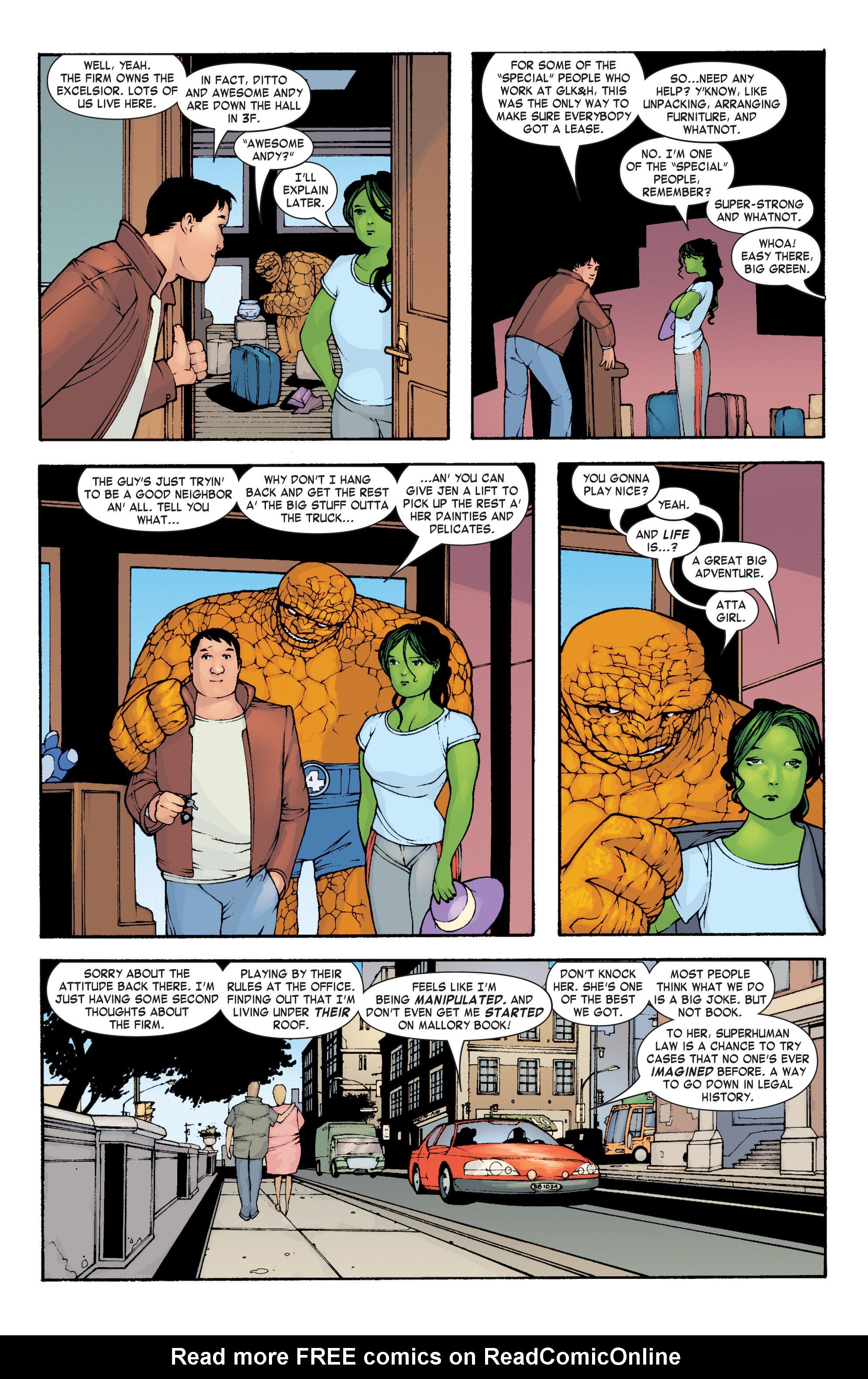 Read online She-Hulk (2004) comic -  Issue #3 - 9