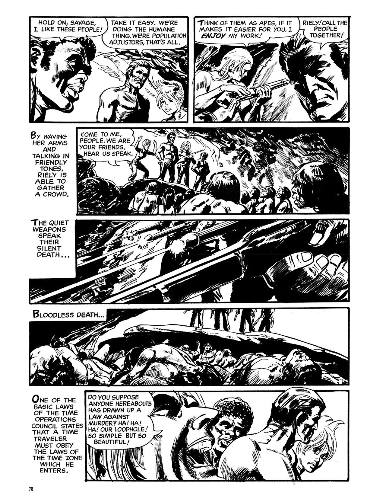 Read online Eerie Archives comic -  Issue # TPB 6 - 79