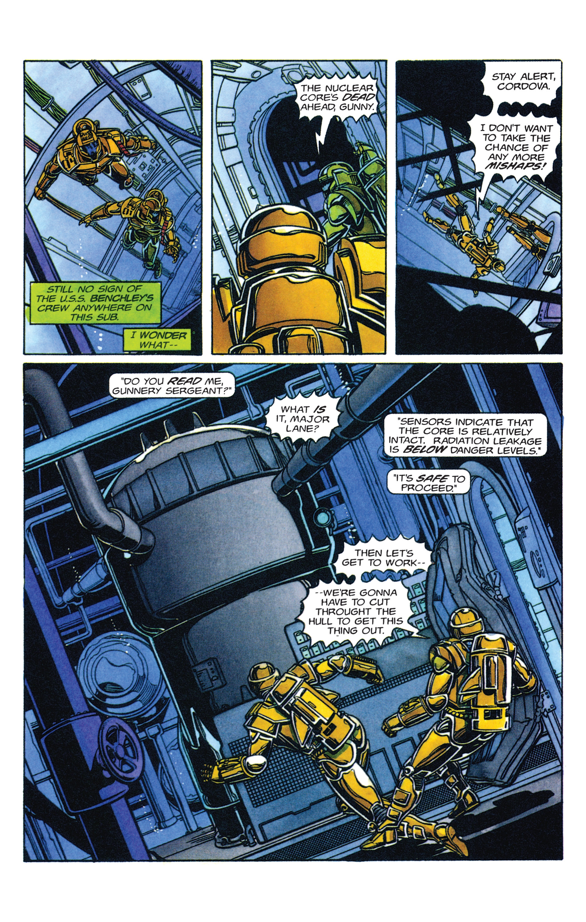 Read online Armorines comic -  Issue #2 - 8