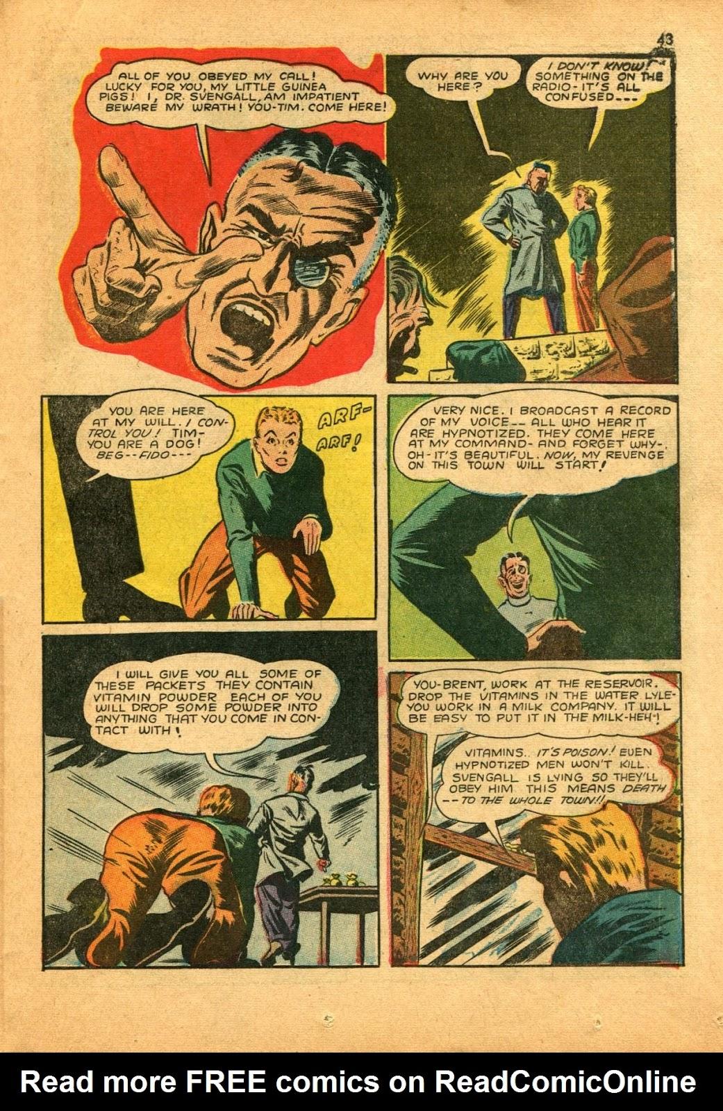 Read online Super-Magician Comics comic -  Issue #11 - 43