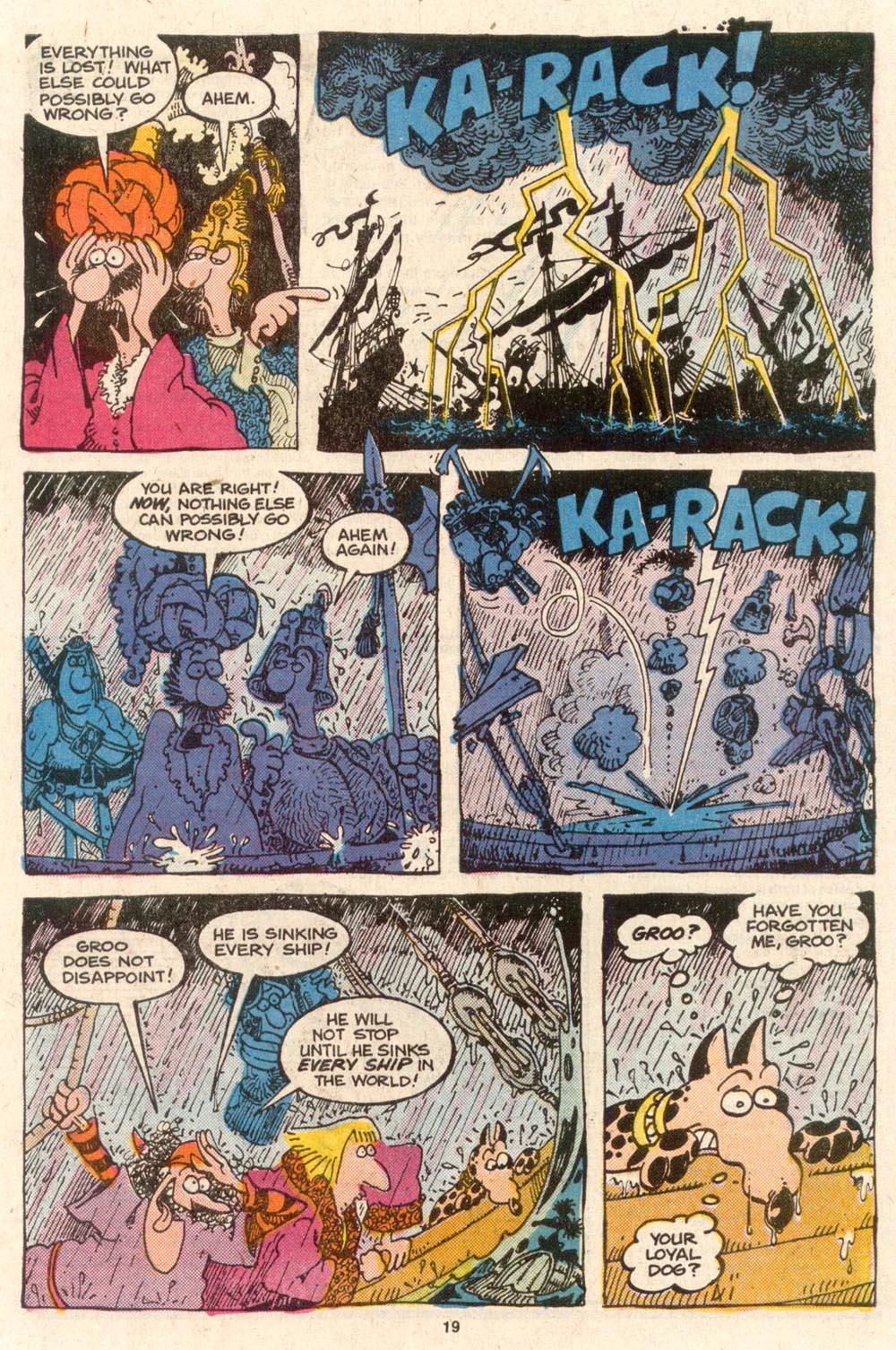 Read online Sergio Aragonés Groo the Wanderer comic -  Issue #54 - 19