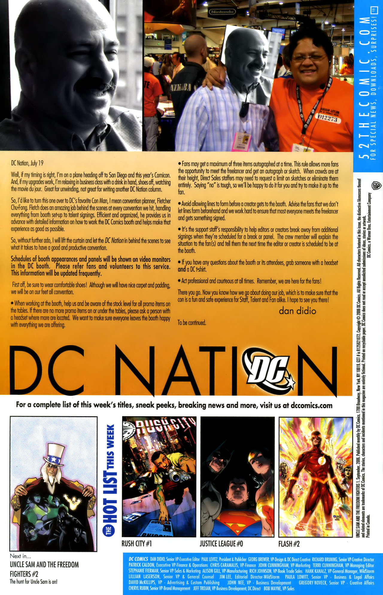 Read online Uncle Sam and the Freedom Fighters (2006) comic -  Issue #1 - 23