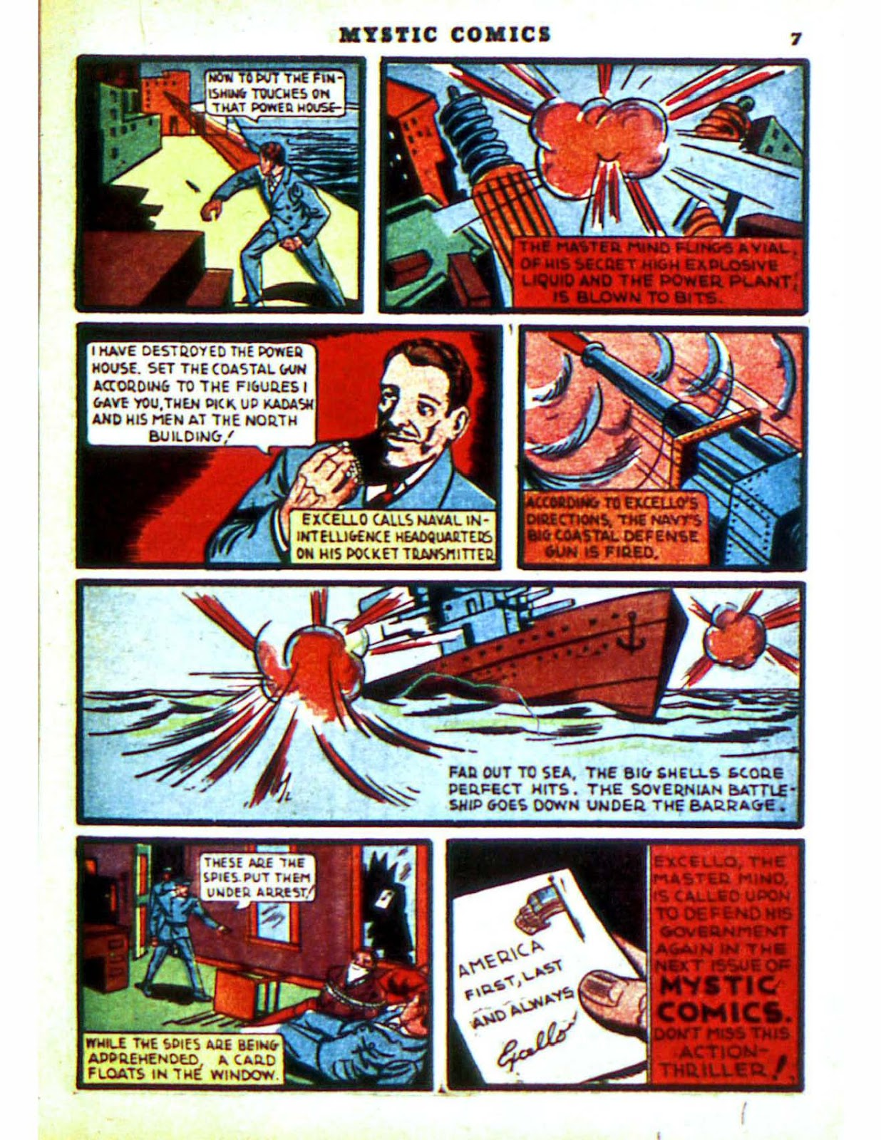 Mystic Comics (1940) issue 2 - Page 9