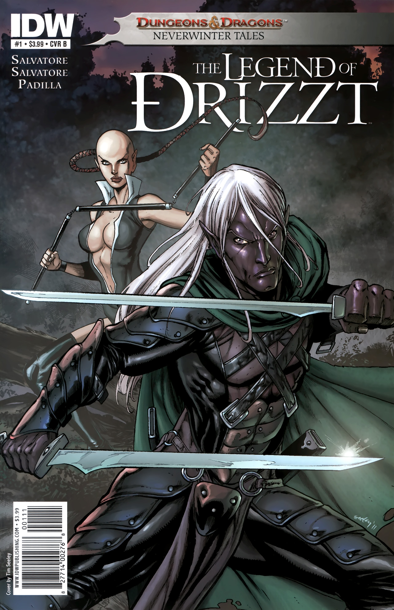 Dungeons & Dragons: The Legend of Drizzt: Neverwinter Tales 1 Page 2