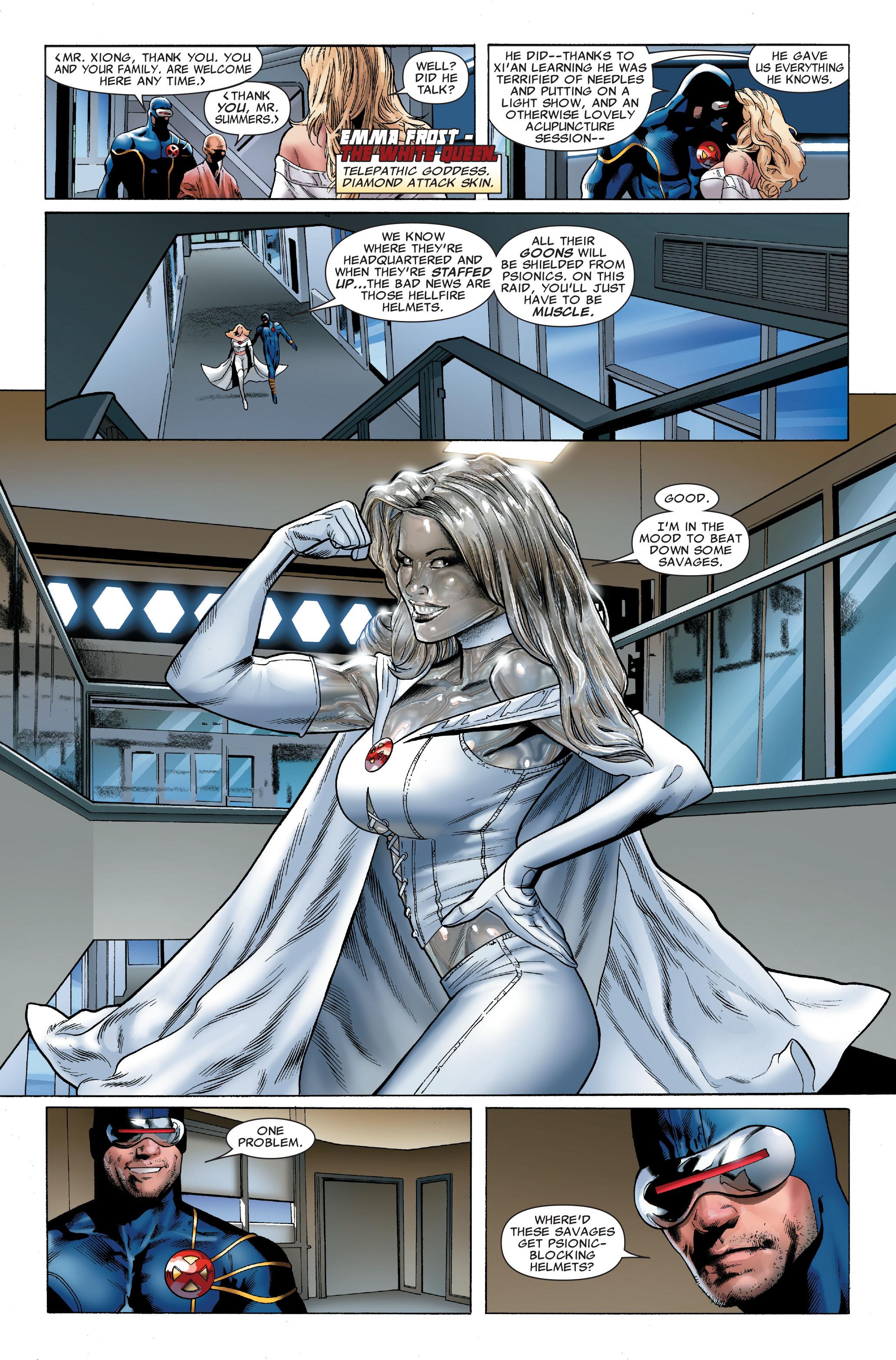 Read online Uncanny X-Men (1963) comic -  Issue #502 - 11