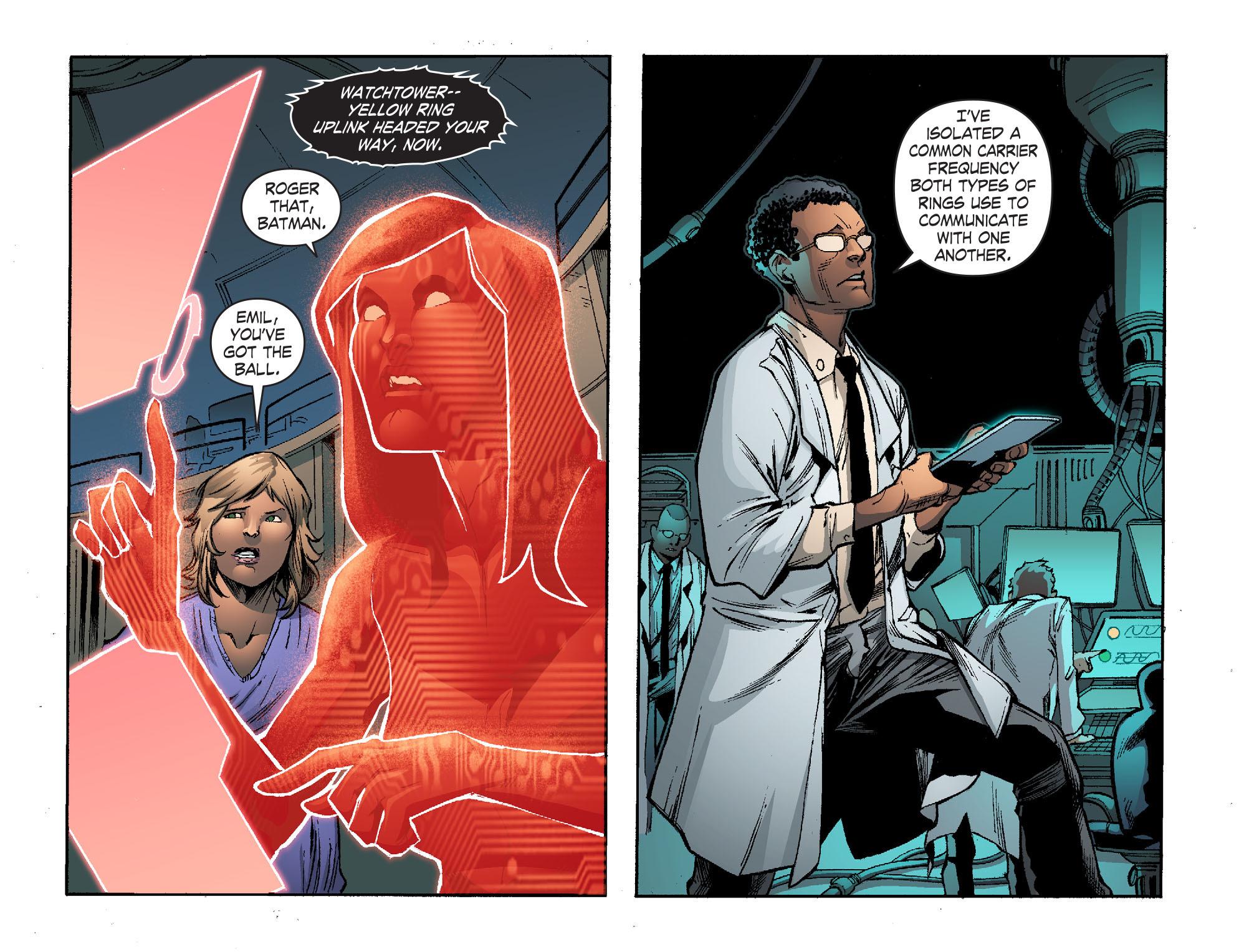 Read online Smallville: Lantern [I] comic -  Issue #11 - 16