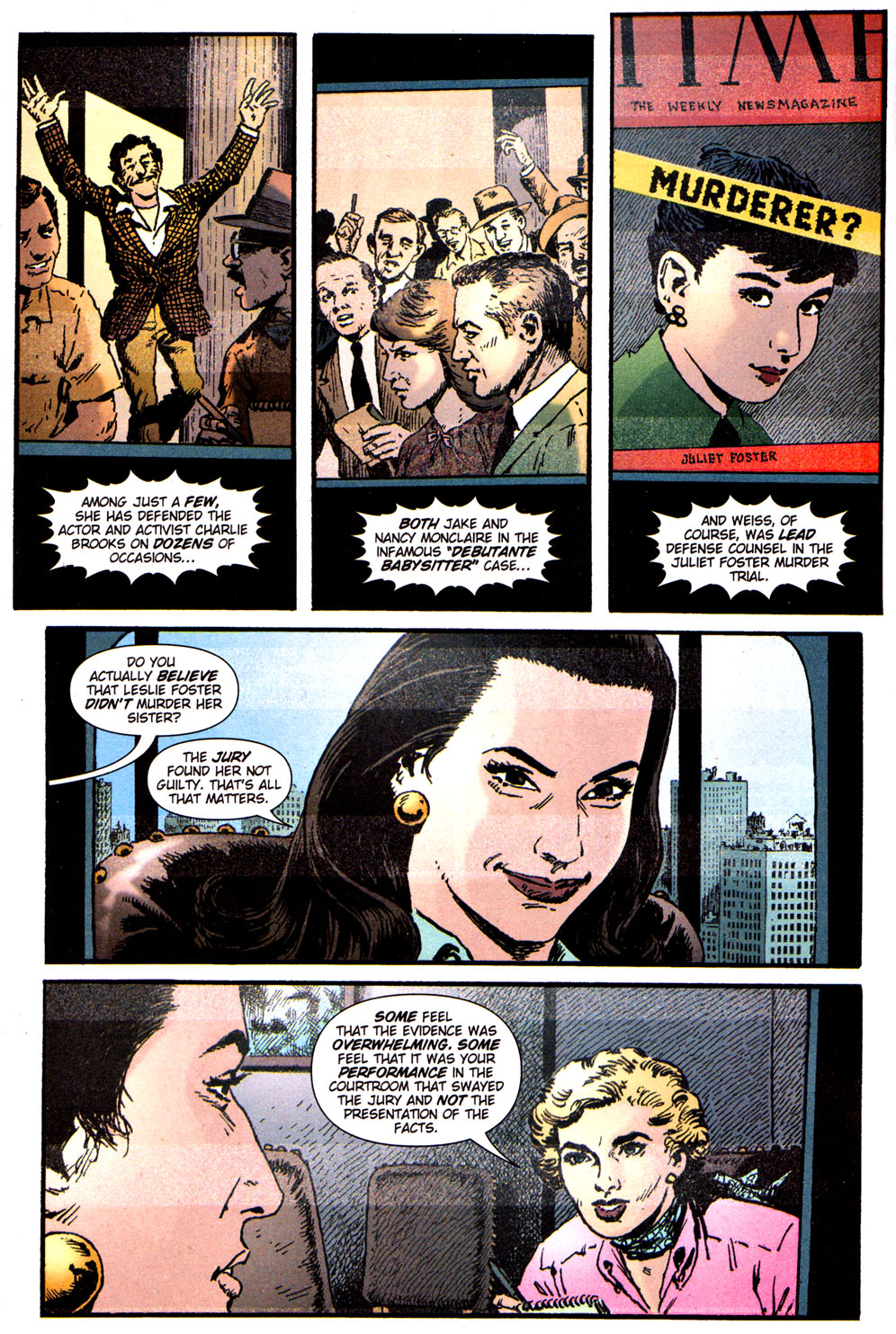 Read online Caper comic -  Issue #5 - 3