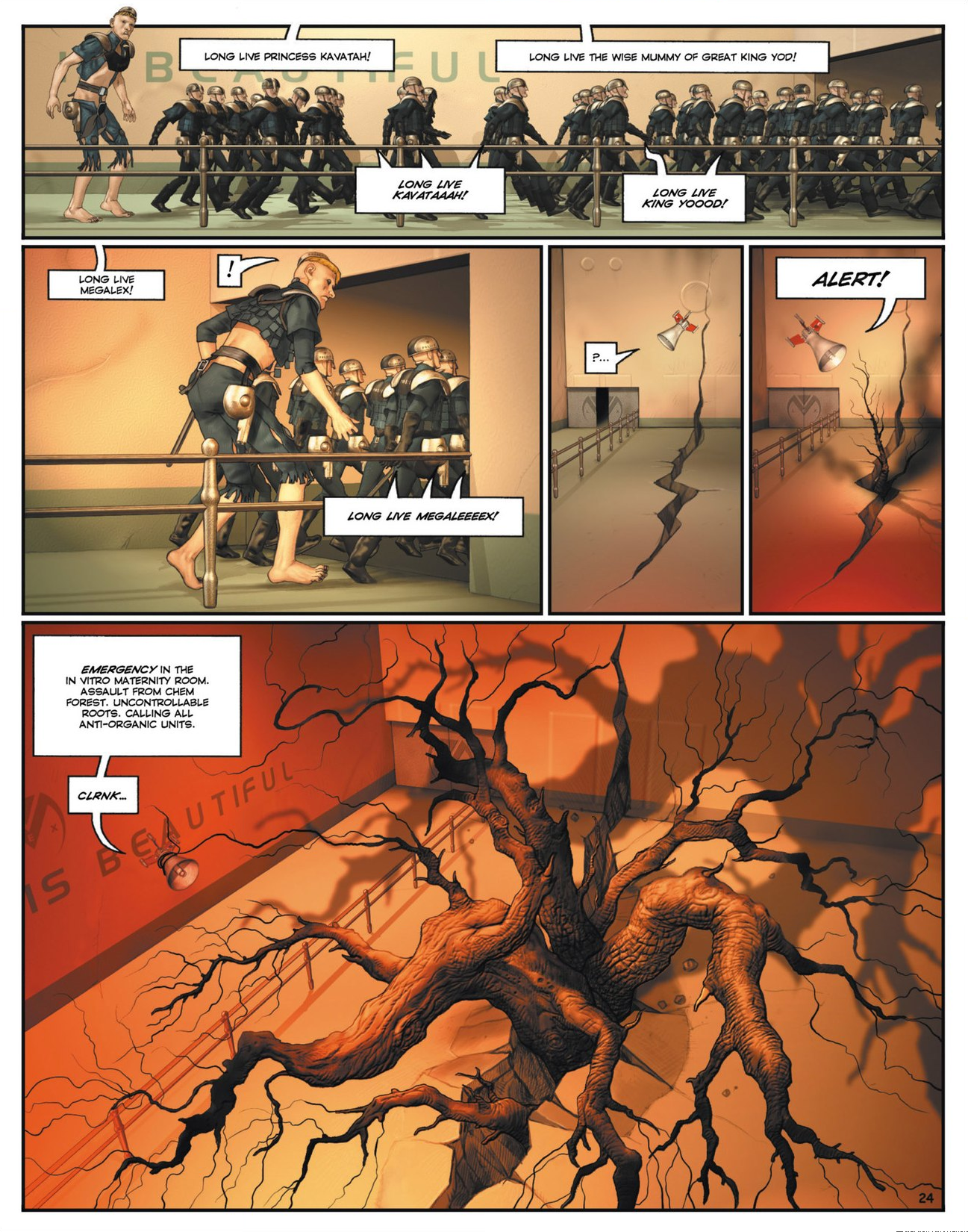 Read online Megalex (2014) comic -  Issue #1 - 29