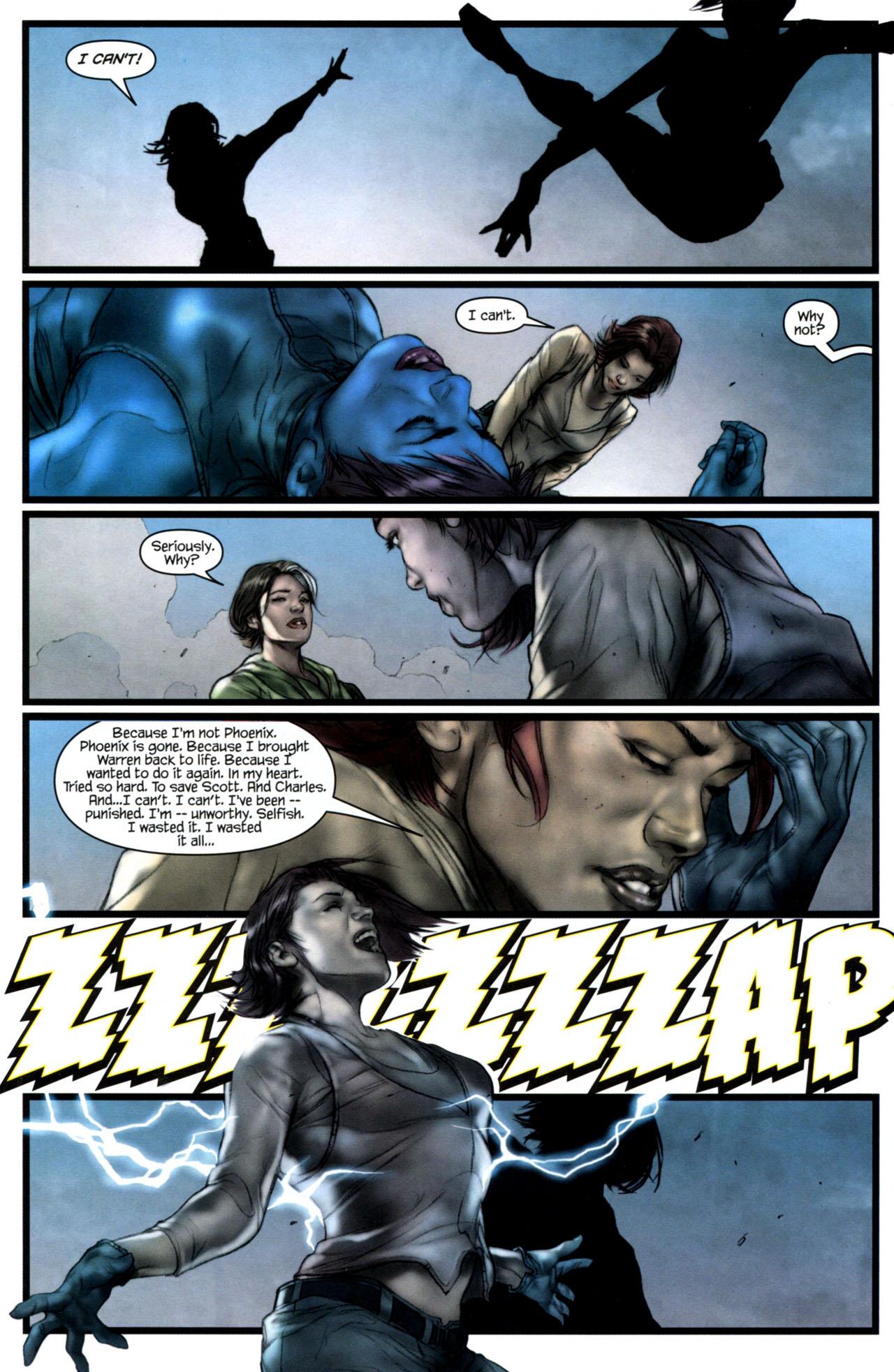 Read online Ultimatum: X-Men Requiem comic -  Issue # Full - 22