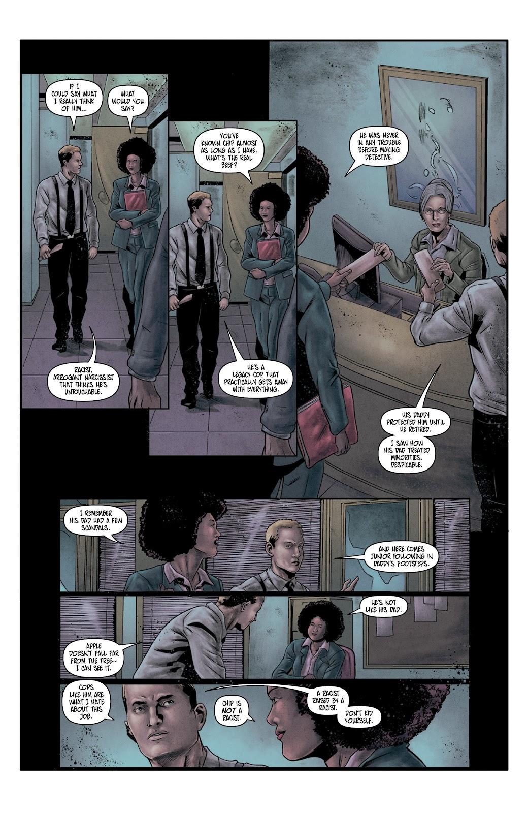 Read online Vindication comic -  Issue #4 - 7