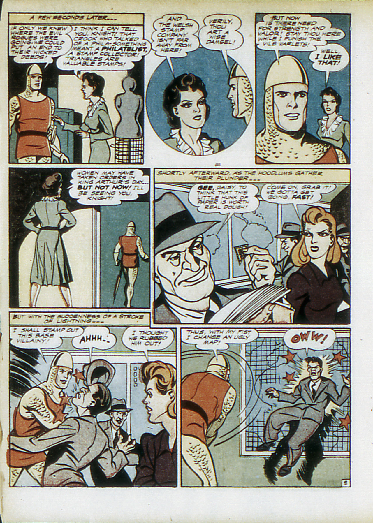 Read online Adventure Comics (1938) comic -  Issue #83 - 35