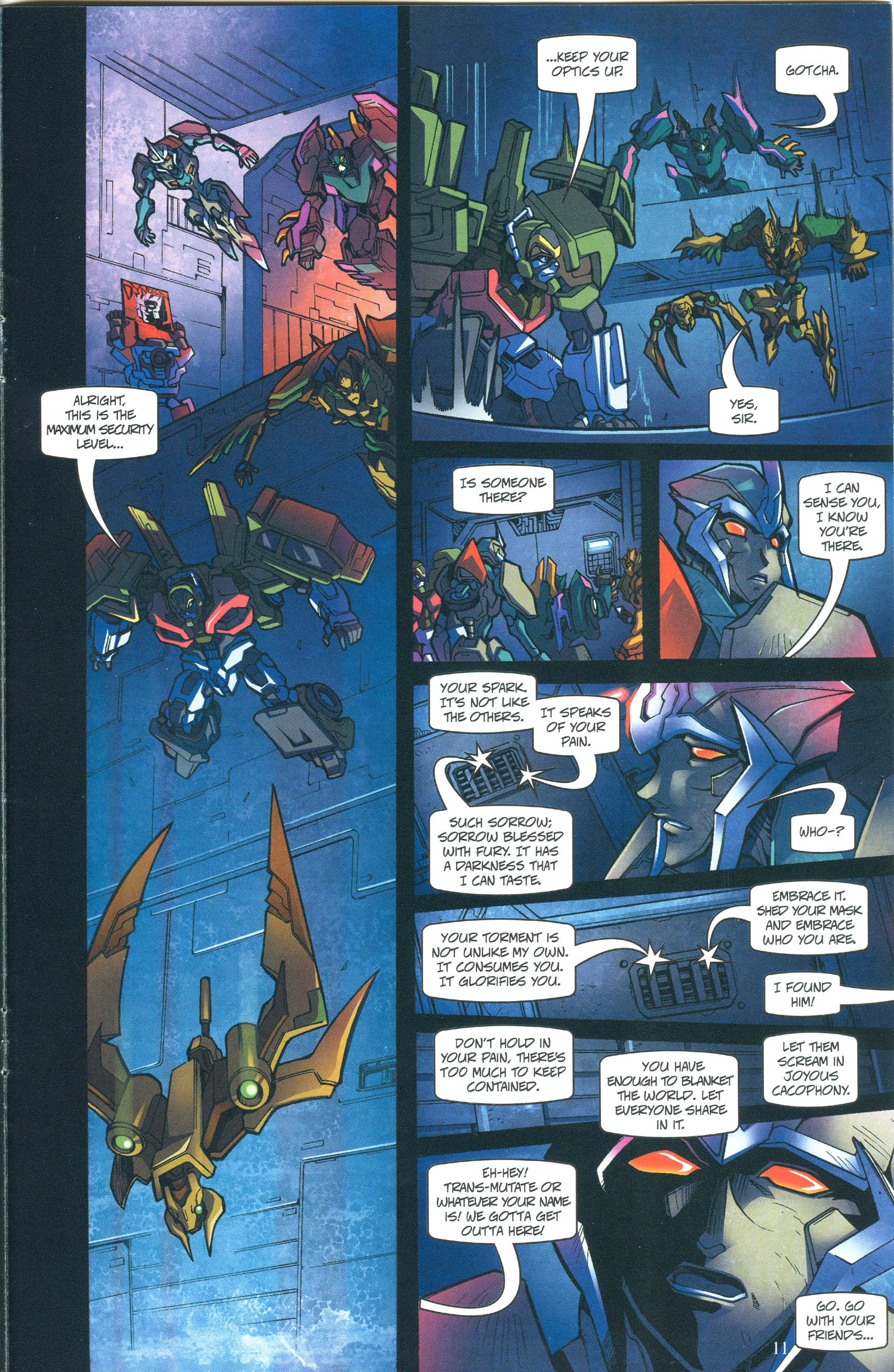 Read online Transformers: Collectors' Club comic -  Issue #55 - 11
