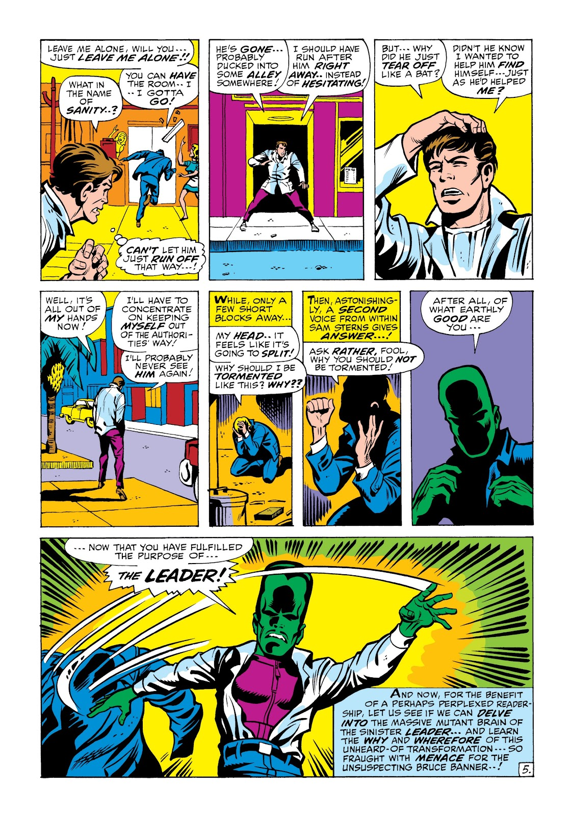 Read online Marvel Masterworks: The Incredible Hulk comic -  Issue # TPB 6 (Part 2) - 59