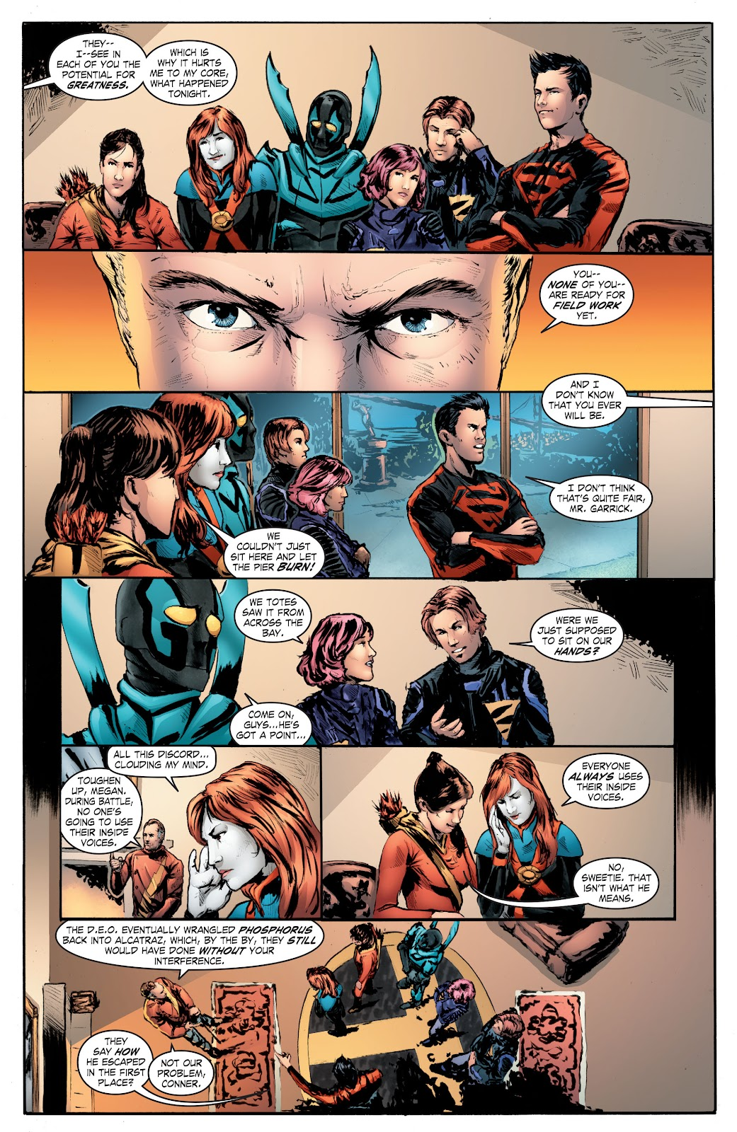 Read online Smallville Season 11 [II] comic -  Issue # TPB 7 - 145