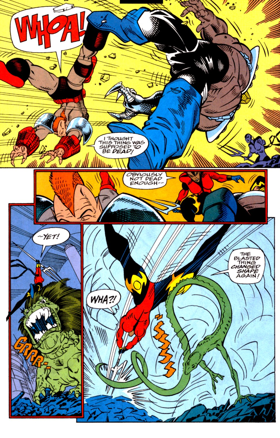 Read online Blackwulf comic -  Issue #4 - 13