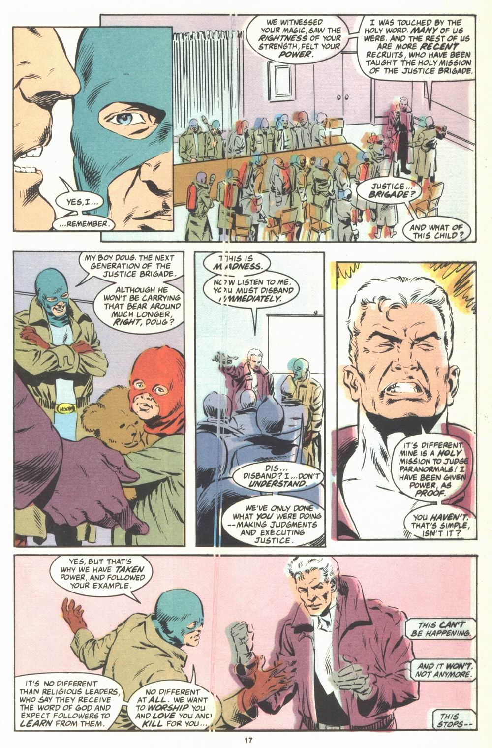 Read online Justice (1986) comic -  Issue #23 - 19