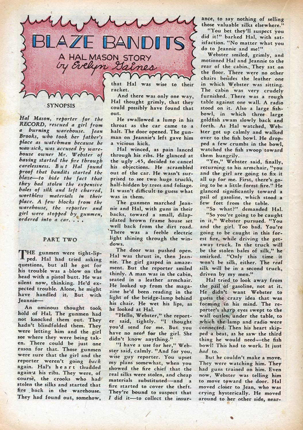 Read online Sensation (Mystery) Comics comic -  Issue #33 - 32