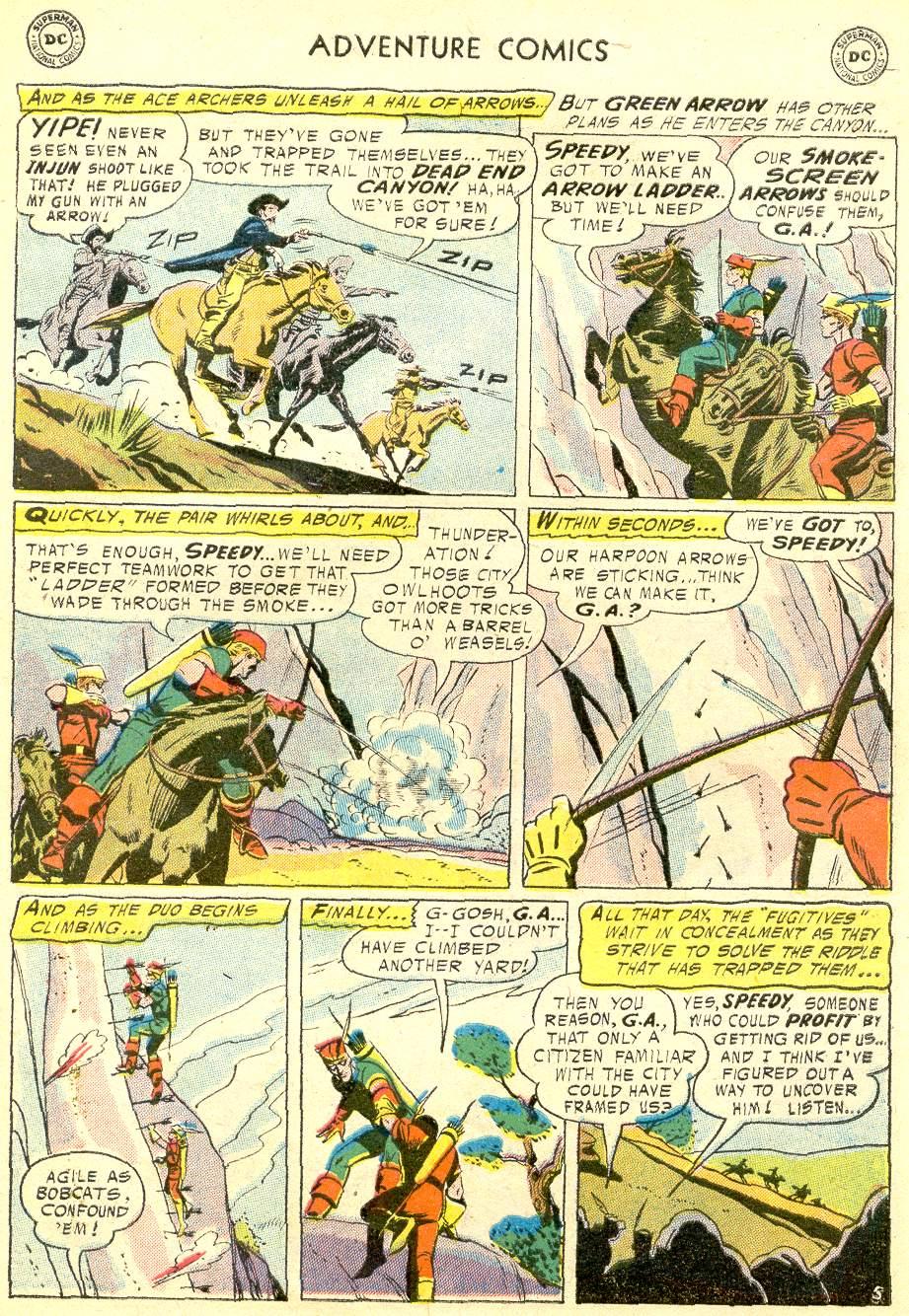 Read online Adventure Comics (1938) comic -  Issue #230 - 31