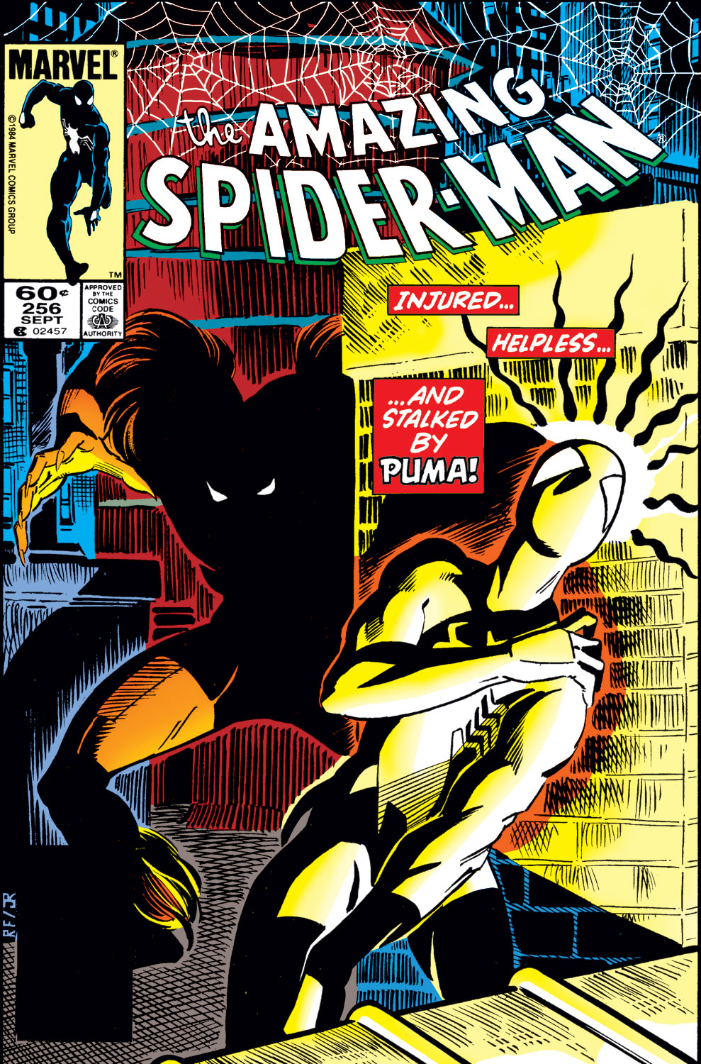 The Amazing Spider-Man (1963) 256 Page 1