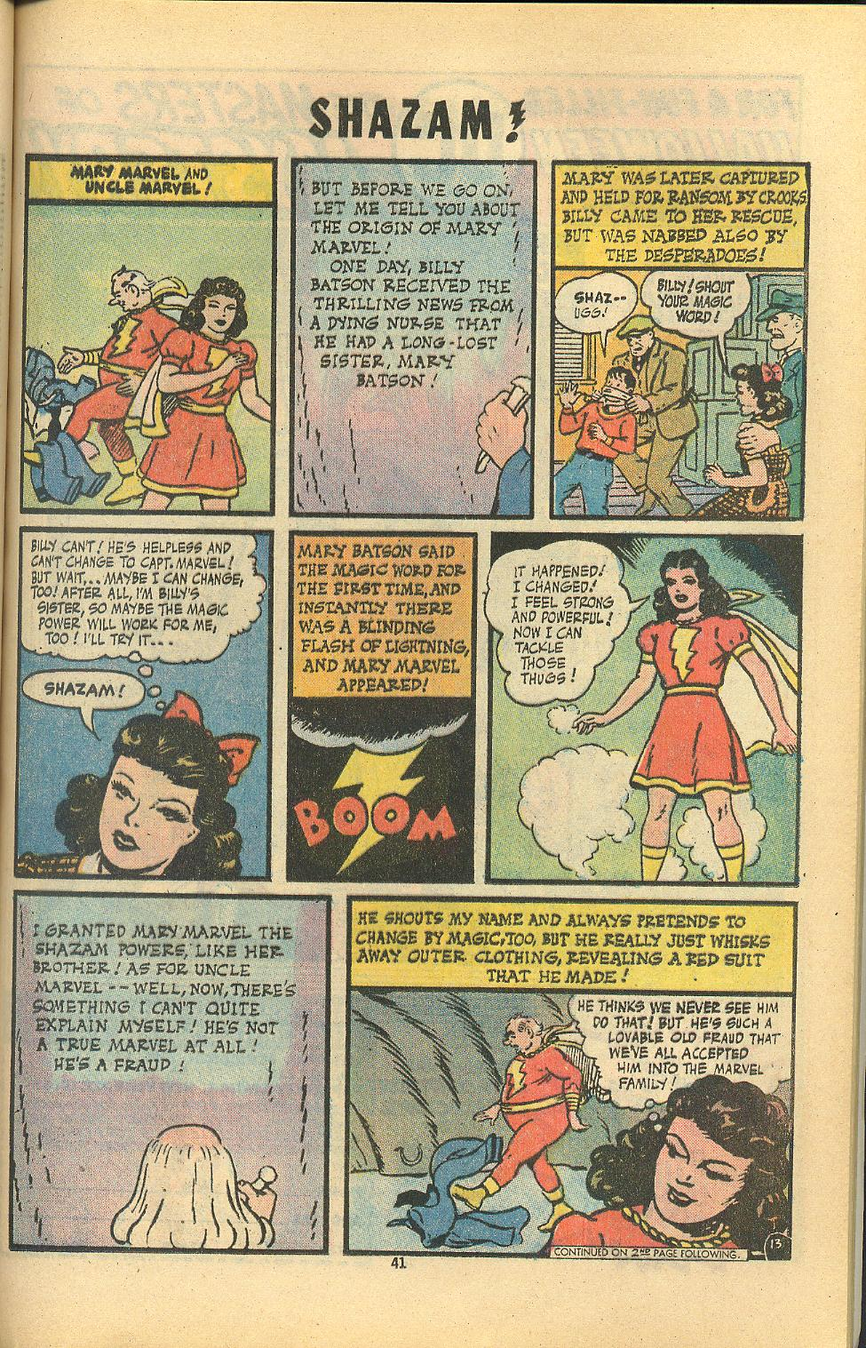 Read online Shazam! (1973) comic -  Issue #8 - 41