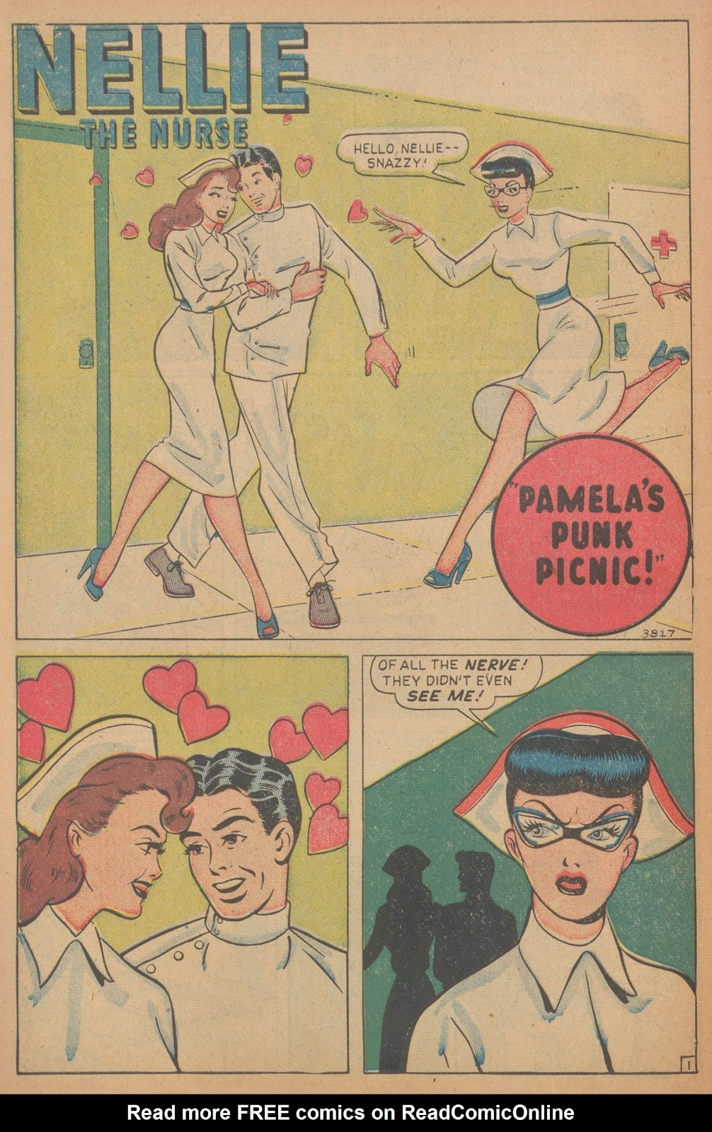 Read online Nellie The Nurse (1945) comic -  Issue #18 - 10