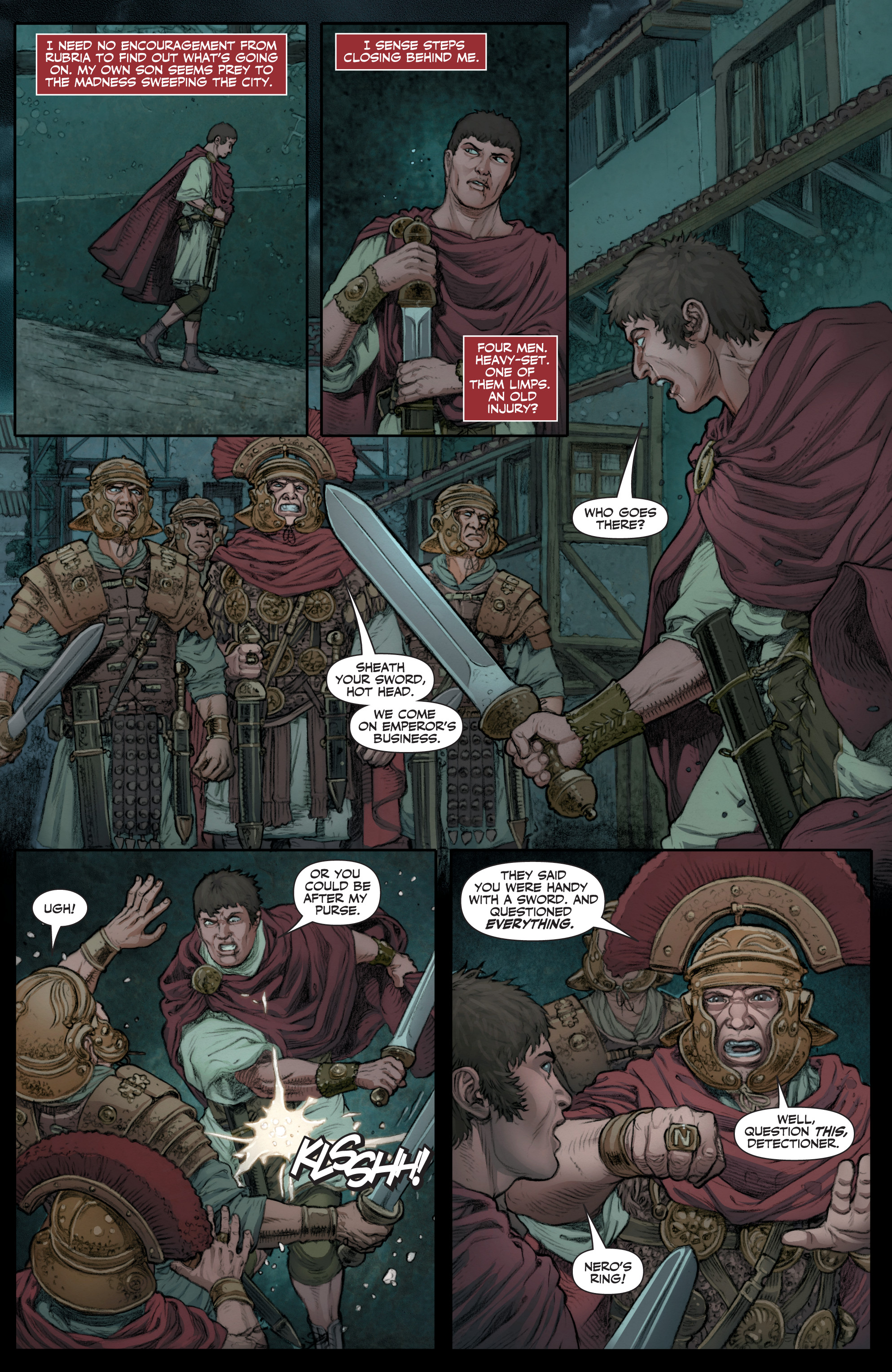 Read online Britannia: We Who Are About To Die comic -  Issue #1 - 18