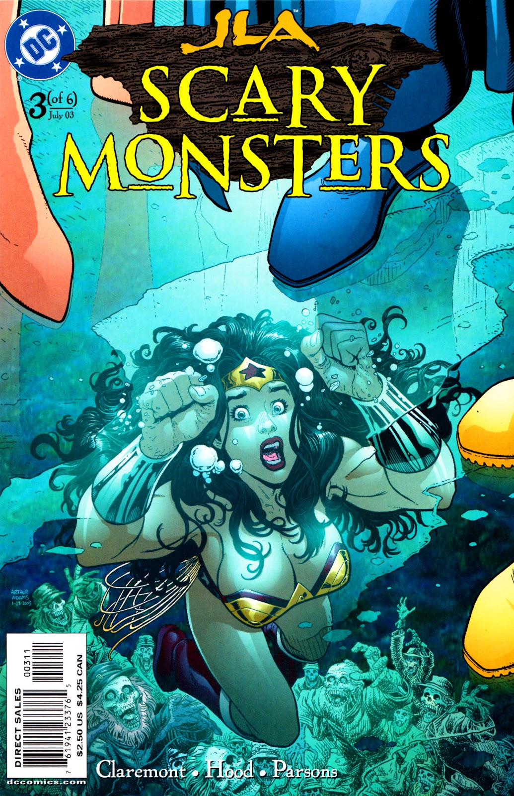 JLA: Scary Monsters issue 3 - Page 1