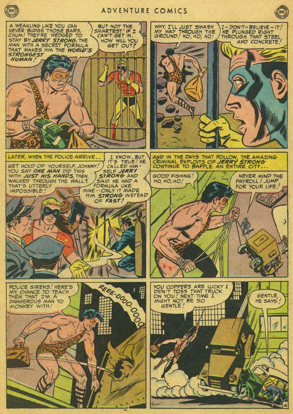 Read online Adventure Comics (1938) comic -  Issue #164 - 20