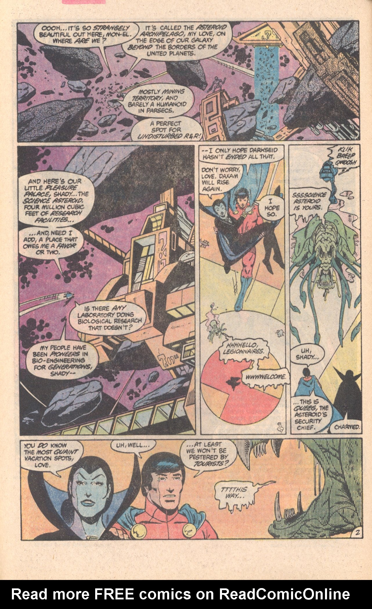 Legion of Super-Heroes (1980) 296 Page 2