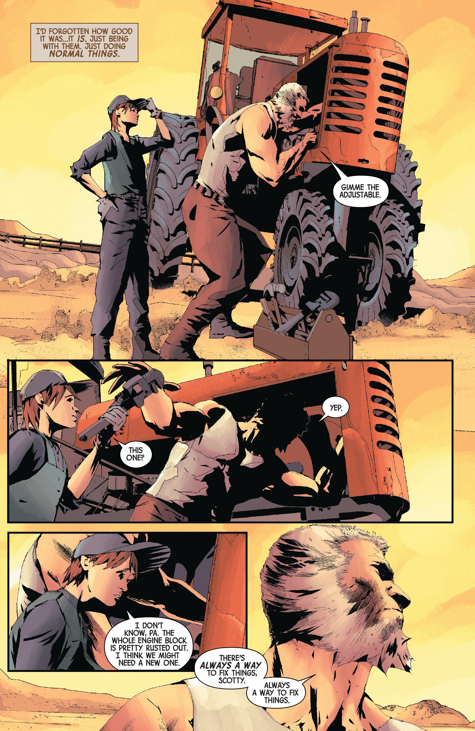 Read online Old Man Logan (2016) comic -  Issue #24 - 5
