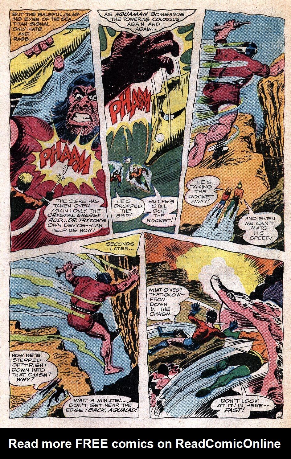 Read online Aquaman (1962) comic -  Issue #32 - 31