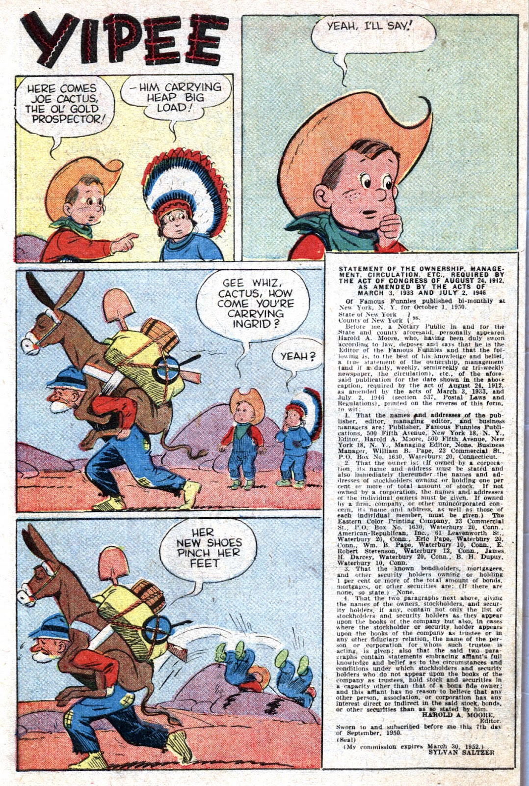 Read online Famous Funnies comic -  Issue #193 - 50