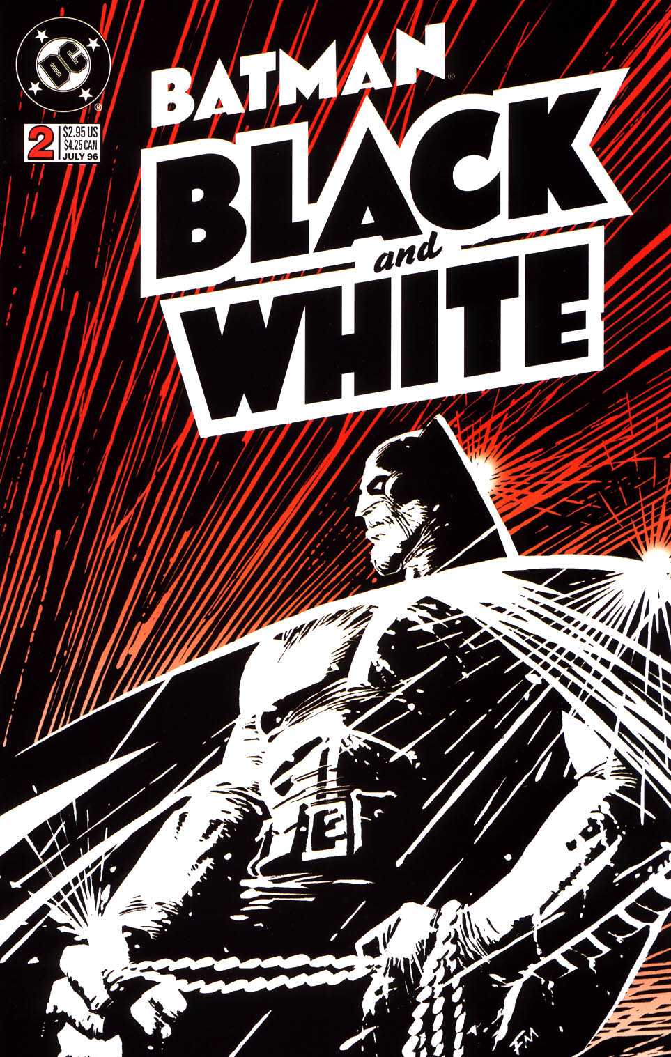 Batman Black and White (1996) 2 Page 1
