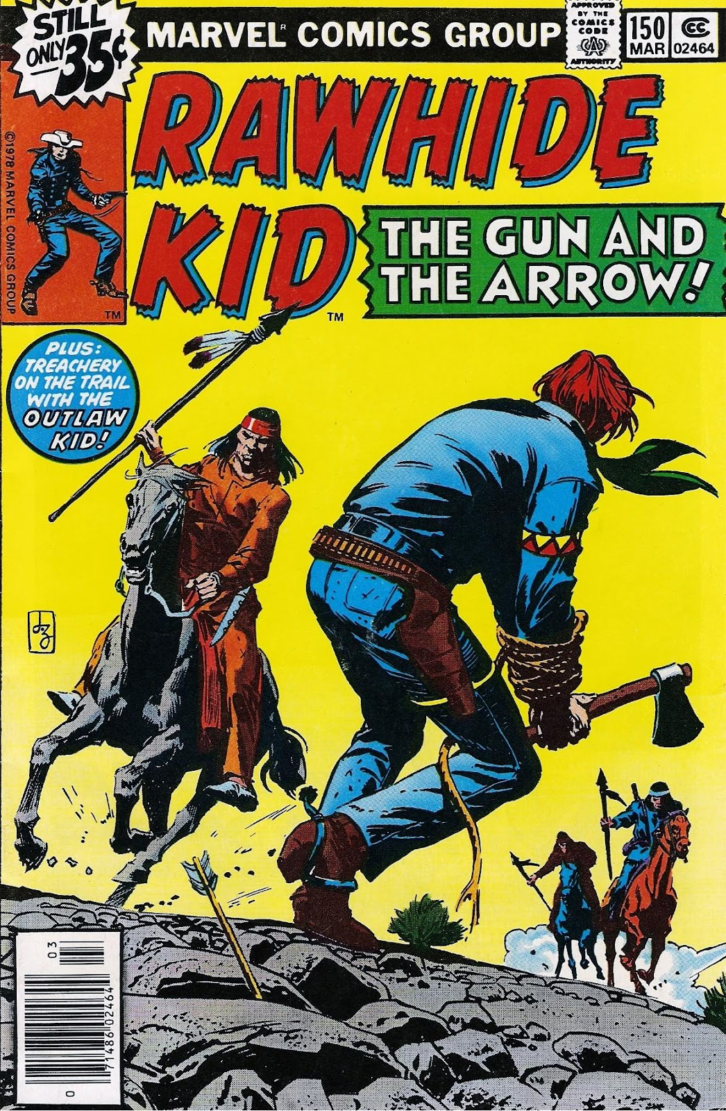 The Rawhide Kid (1955) issue 150 - Page 1