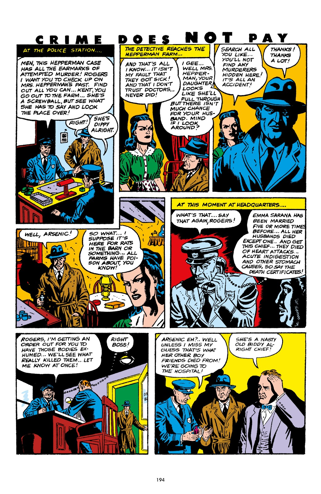 Read online Crime Does Not Pay Archives comic -  Issue # TPB 5 (Part 2) - 94