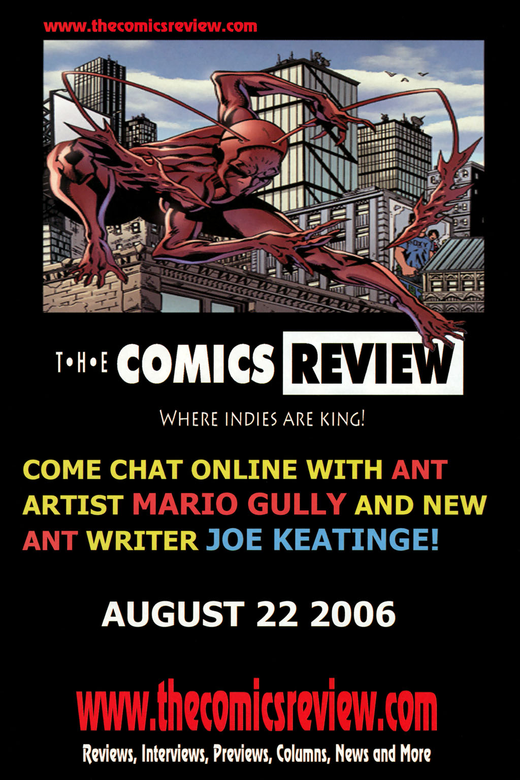 Read online Ant comic -  Issue #8 - 28